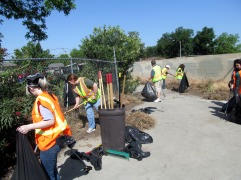 West Fresno Community Clean-up